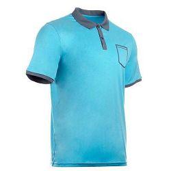 Artengo Pánské Polo Soft Pocket Modré