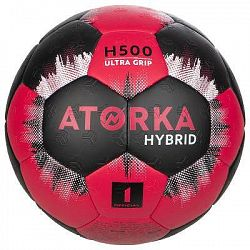 Atorka Mič H500 Vel. 1 Černo-Růžový