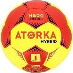 Atorka Míč H500 Vel. 1 Červeno-Žlutý