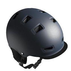 B'Twin Cyklistická Helma 500 Modrá