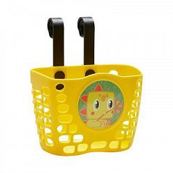 B'Twin Dětský Košík NA Kolo Žlutý