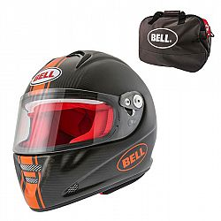 Bell M5X Daytona Carbon Matte Orange M (57-58)