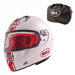 Bell M5X Daytona White Red L (59-60)