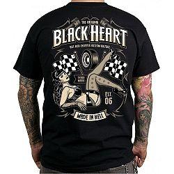 BLACK HEART Melisa černá - XXL