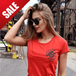 Dámské tričko The Best Version Red Black - GymBeam