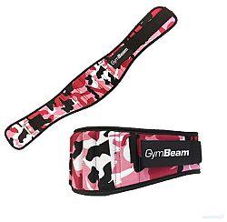 Dámský fitness opasek Pink Camo - GymBeam