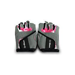 Fitness Dámské rukavice Camo Pink - GymBeam
