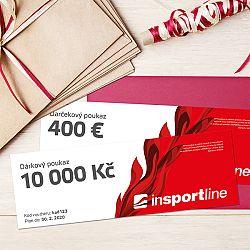 inSPORTlineNotEX Dárkový poukaz - 10.000 Kč pro nákup na eshopu