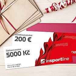 inSPORTlineNotEX Dárkový poukaz - 5.000 Kč pro nákup na eshopu