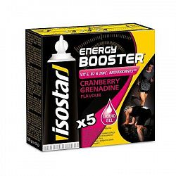 Isostar Energetické Gely Booster 5×20G