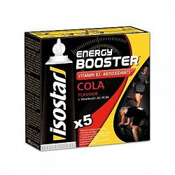Isostar Energetické Gely Booster Cola
