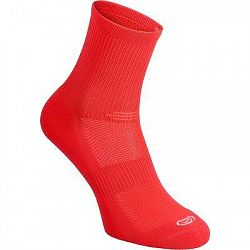 Kalenji Ponožky Confort Mid Růžové