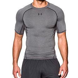 Kompresní tričko HG Armour SS Grey - Under Armour
