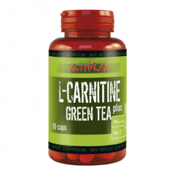L-Carnitine + Green Tea 60 kaps - ActivLab