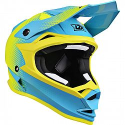 Lazer OR1 Heart Attack (Yellow Fluo-Blue-Matt) - XS (53-54)