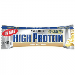 Low Carb High Protein Bar 50 g - Weider