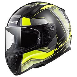 LS2 FF353 Rapid Carrera Black H-V Yellow XS (53-54)