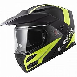 LS2 LS2 FF324 Metro Rapid Matt Black Yellow P/J XS (53-54)