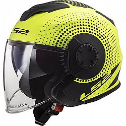 LS2 OF570 Verso Spin Matt Hi Vis Yellow - XXS (51-52)