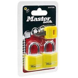 Master Lock Sada 2 KS Visací Zámek + Klíč