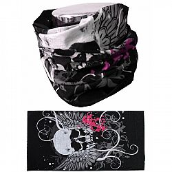 MTHDR Scarf Skull Pink