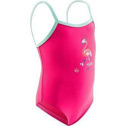Nabaiji Jednodílné Dívčí Plavky Růžové