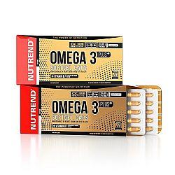 Nutrend Omega 3 PLUS Softgel Caps 120 kapslí