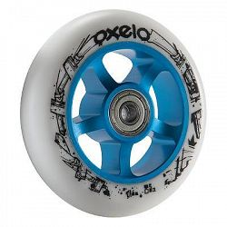Oxelo Kolečko 100 MM PU Modro-Bílé