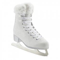 Oxelo Lední Brusle 500 Bílé