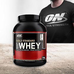 Protein 100% Whey Gold Standard - Optimum Nutrition + tričko
