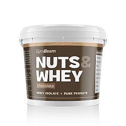 Proteinové arašídové máslo Nuts & Whey 1000 g - GymBeam
