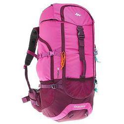 Quechua Batoh Forclaz50L Růžový