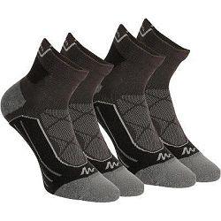 Quechua Ponožky Mh900 Mid 2 Páry Černé