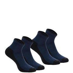 Quechua Ponožky Nh100 Mid 2 Páry Modré