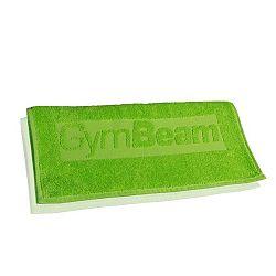 Ručník do fitka zelený - GymBeam