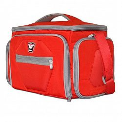 Sportovní taška na jídlo The Shield LG Red - Fitmark