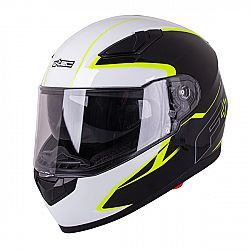 W-TEC FS-816 Black-Fluo Yellow XS (53-54)
