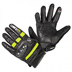 W-TEC Rushin Black-Fluo Yellow - S