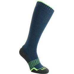Wedze Lyžařské Ponožky 100 Modré