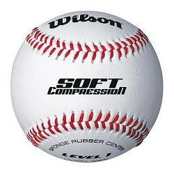 Wilson Míč Soft Compression Bílý