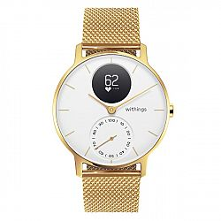 Withings Steel HR Champagne Gold/White